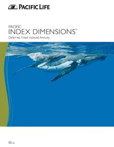 INDEX DIMENSIONSSM Deferred, Fixed Indexed Annuity