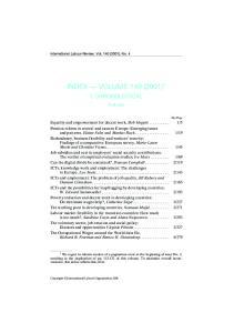 INDEX VOLUME 140 (2001) 1