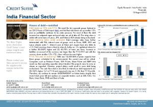 India Financial Sector SECTOR REVIEW