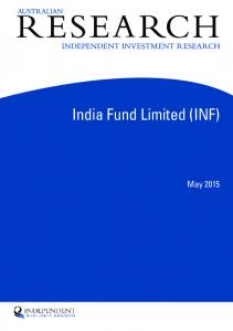 India Fund Limited (INF)