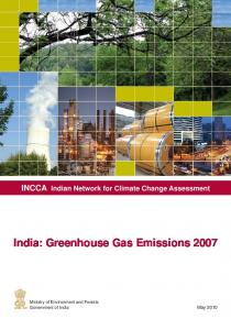 India: Greenhouse Gas Emissions 2007