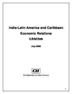 India-Latin America and Caribbean Economic Relations