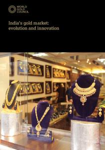 India s gold market: evolution and innovation