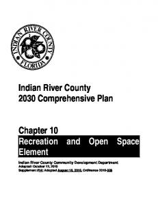 Indian River County 2030 Comprehensive Plan