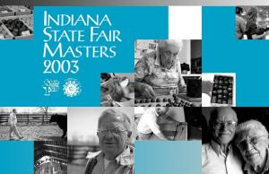 INDIANA STATE FAIR MASTERS 2003