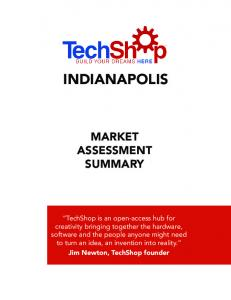 INDIANAPOLIS MARKET ASSESSMENT SUMMARY