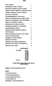 INDICE CORTE DE JUSTICIA 1 AUTORIDADES DE LA CORTE DE JUSTICIA 2 SECRETARIOS LETRADOS DE LA CORTE DE JUSTICIA 2