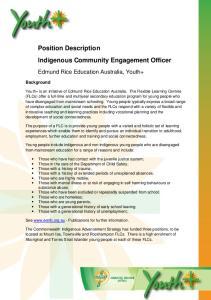 Indigenous Community Engagement Officer