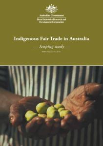 Indigenous Fair Trade in Australia