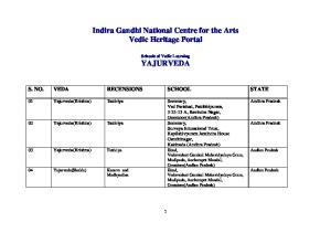 Indira Gandhi National Centre for the Arts Vedic Heritage Portal
