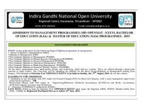 Indira Gandhi National Open University Regional Centre, Karamana, Trivandrum