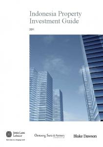 Indonesia Property Investment Guide