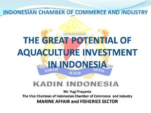 INDONESIAN CHAMBER OF COMMERCE AND INDUSTRY