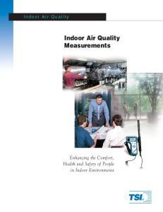 Indoor Air Quality Measurements