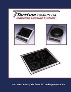 Induction Cooking Systems