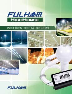 INDUCTION LIGHTING SYSTEMS