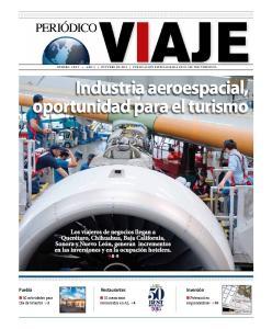 Industria aeroespacial, oportunidad para el turismo
