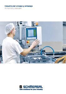 Industria del envase y embalaje Alimentos y bebidas