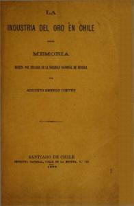 INDUSTRIA DEL ORO EN CHILE