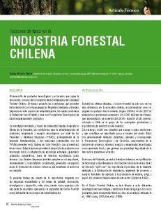 INDUSTRIA FORESTAL CHILENA