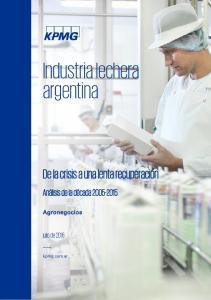 Industria lechera argentina