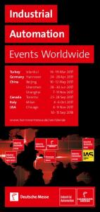 Industrial Automation Events Worldwide