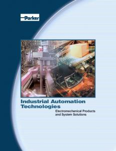Industrial Automation Technologies. Electromechanical Products and System Solutions
