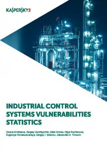 INDUSTRIAL CONTROL SYSTEMS VULNERABILITIES STATISTICS