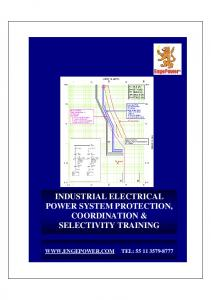 INDUSTRIAL ELECTRICAL POWER SYSTEM PROTECTION, COORDINATION & SELECTIVITY TRAINING