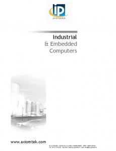 Industrial & Embedded Computers