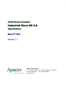 Industrial Micro SD 3.0