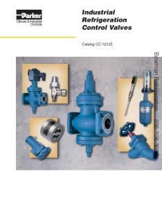 Industrial Refrigeration Control Valves