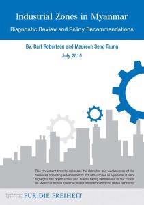 Industrial Zones in Myanmar