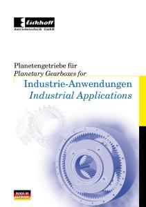 Industrie-Anwendungen Industrial Applications