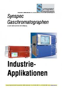 Industrie- Applikationen