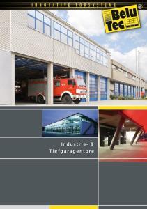Industrie- & Tiefgaragentore
