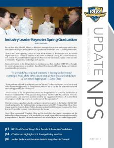 Industry Leader Keynotes Spring Graduation