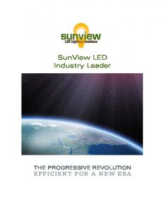Industry Leader. The Progressive Revolution efficient for a New Era