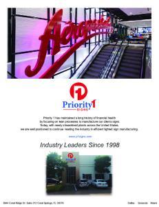 Industry Leaders Since 1998