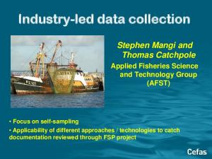 Industry-led data collection