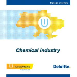 Industry overview. Chemical industry