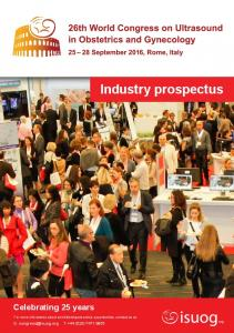Industry prospectus. Celebrating 25 years. E: T: +44 (0)