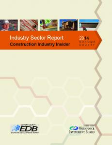Industry Sector Report. Construction Industry Insider