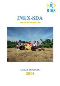 INEX-SDA VOLUNTEER PROJECTS