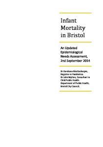 Infant Mortality in Bristol