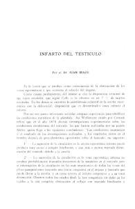 INFARTO DEL TESTICULO