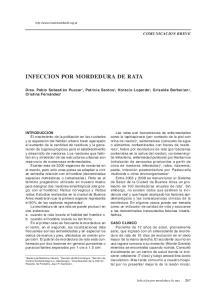 INFECCION POR MORDEDURA DE RATA