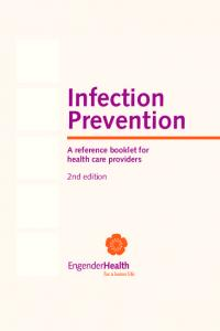 Infection Prevention A reference booklet for health care providers