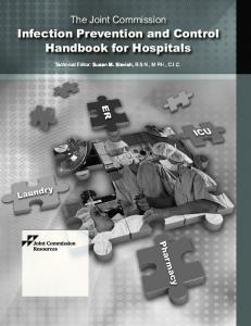 Infection Prevention and Control Handbook for Hospitals