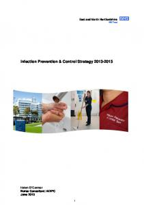 Infection Prevention & Control Strategy